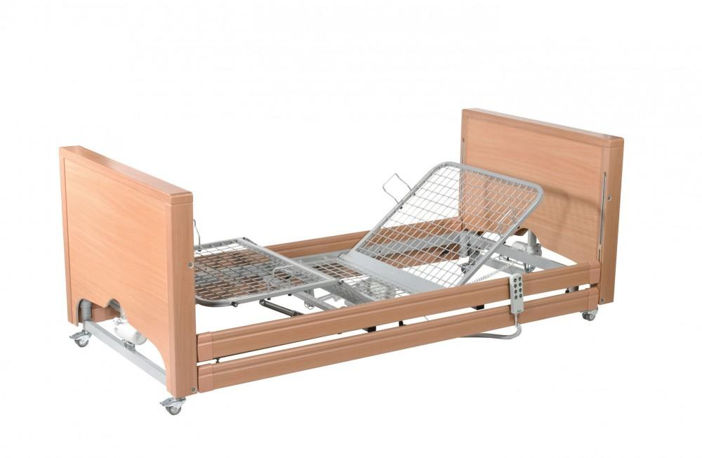 Casa-Med-Classic-FS-Low-Bed-With-Side-Rails Casa Med Classic FS Low Bed With Side Rails
