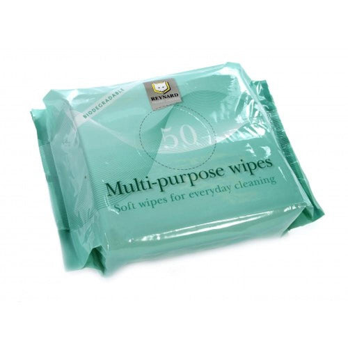 Biodegradable-Multi-Purpose-Wipes-(Extra-Large)---Pack-of-50 Biodegradable Multi-Purpose Wipes (Extra Large) - Pack of 50