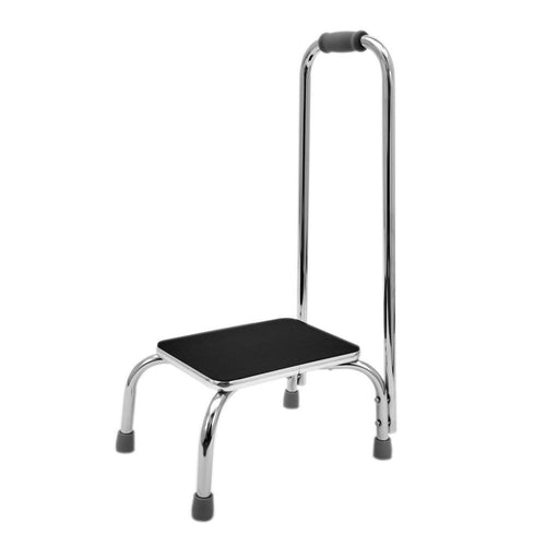 Chrome-Step-Stool With Handle