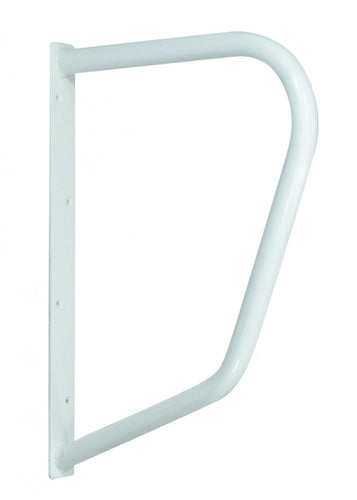 D-shape-rail White