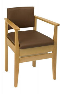 Deluxe-Commode-Chair Brown