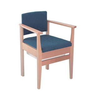 Deluxe-Commode-Chair Navy