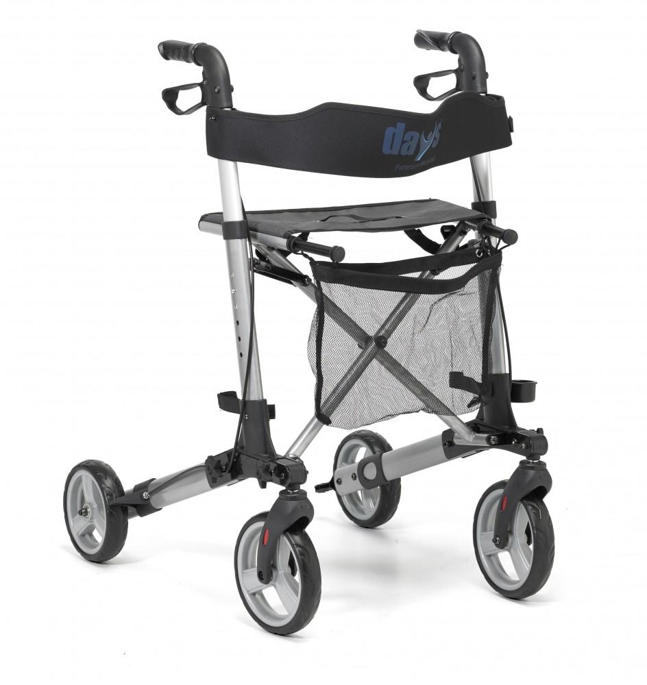 Deluxe-Lightweight-Rollator One size