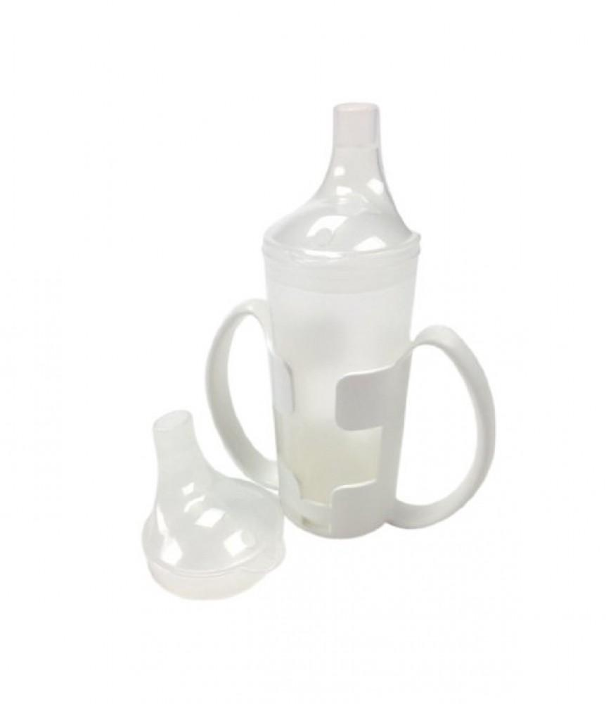 Drinking-Cup-with-Cup-Holder Clear