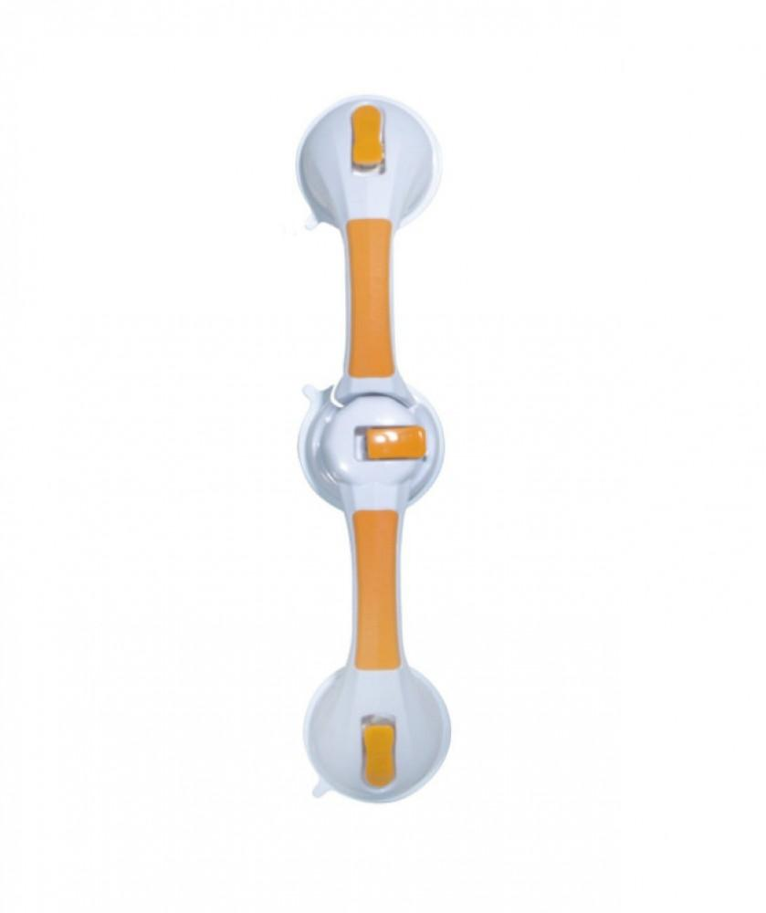 Dual-rotating-suction-cup-12''-grab-bar-with-indicator 30cm (12'')