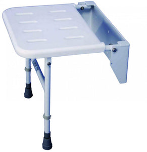 Folding-Shower-Seat-With-Legs Folding Shower Seat With Legs