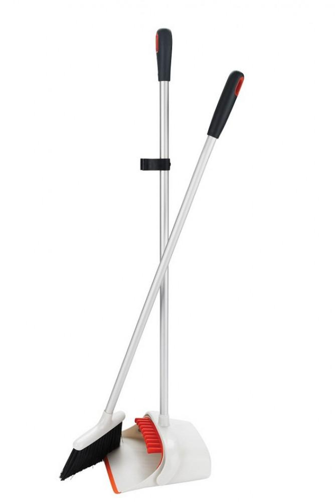 OXO-Good-Grips-Long-handled-dustpan-and-brush One size