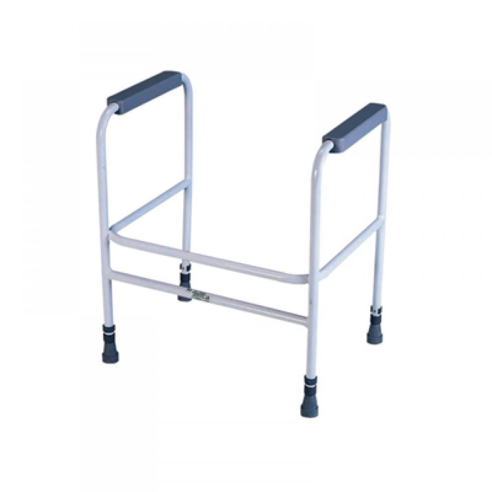 Height-adjustable-toilet-frame Free standing
