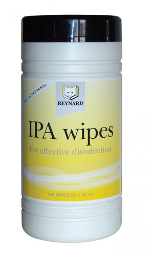IPA-Surface-Disinfectant-(70%-Isopropyl-Alcohol)---160-Wipes-/-200-Wipes 160 Wipes