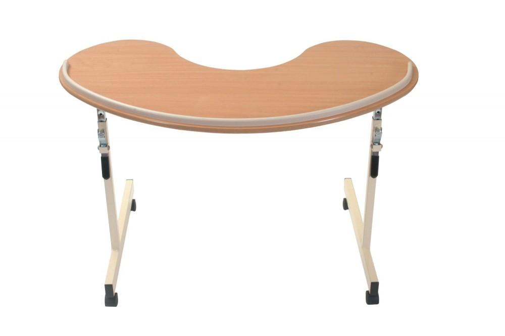 Kidney-Overchair-Table Kidney Overchair Table