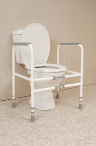 Height-and-Width-Adjustable-Toilet-Frame Fixed width