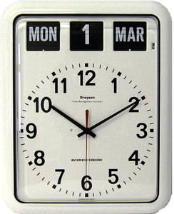 Large-Calendar-Wall-Clock Large Calendar Wall Clock