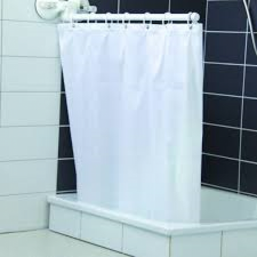 Mobeli-Shower-/-Bath-Curtain-Screen-(With-Curtain-/-Without-Curtain) With Curtain