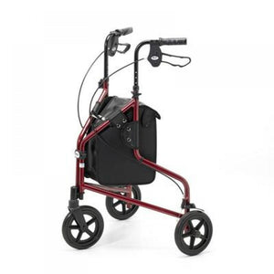 Modern-Tri-Walker-with-Wheels---Available-in-bright-colours Red