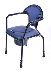 Open-Adjustable-Commode Blue