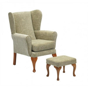 Queen-Anne-Chair Sage Chair