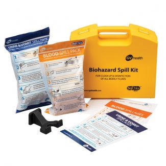 Body Fluid Spill Kit - Deluxe