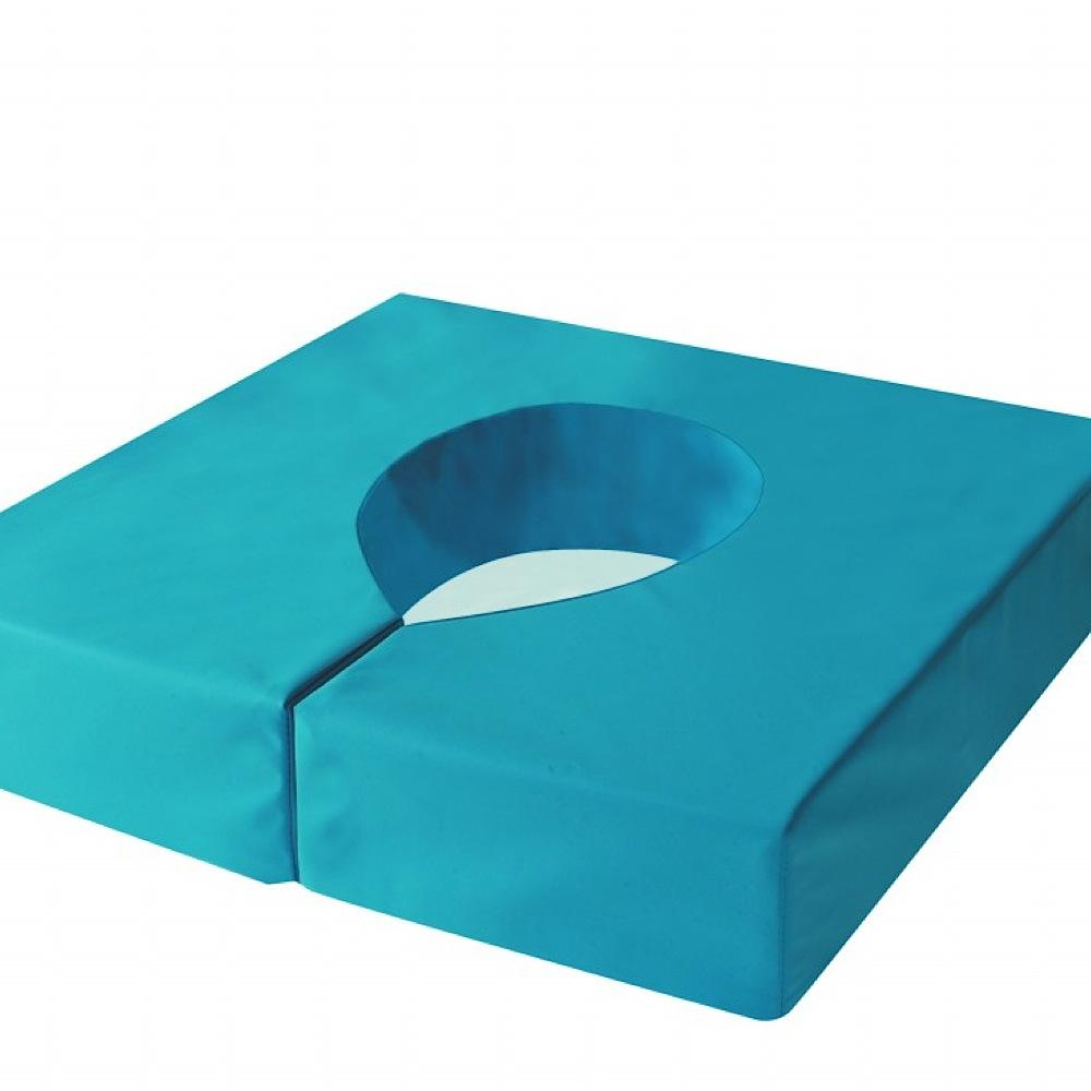 Harley-Commode-Cushion Blue