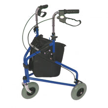 Steel-Triwalker-with-Carry-Bag Blue