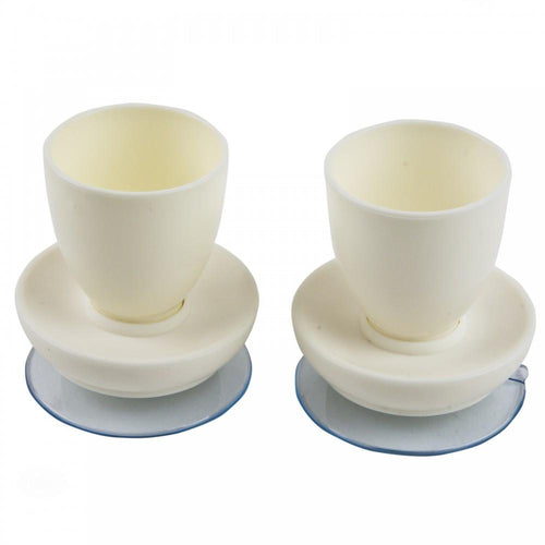 Suction-egg-cup White