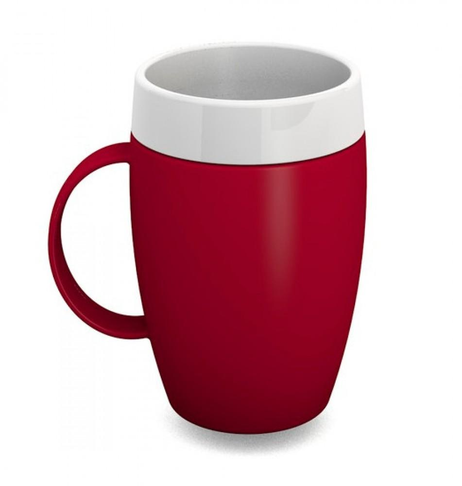 Thermal-Mug-with-Internal-Cone Red