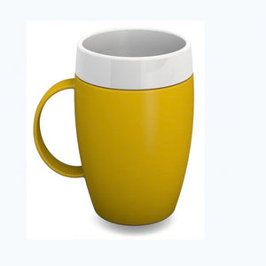 Thermal-Mug-with-Internal-Cone Yellow