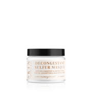 Decongestant Sulfur Masque