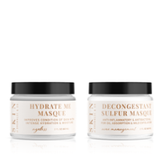 Pure Beauty Glow Face Masque Duo