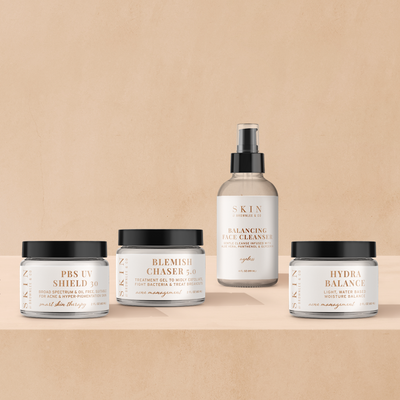 Skin by Brownlee & Co. Travel Acne Bundle