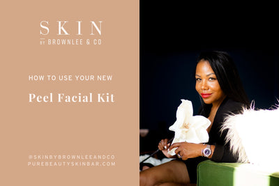 Skin By Brownlee & Co Holiday Peel Kit