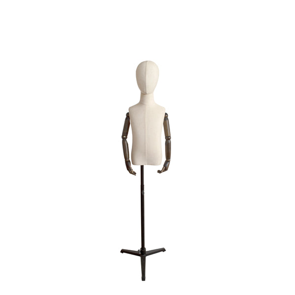 CTHB5 Child White Torso with Arms & Head