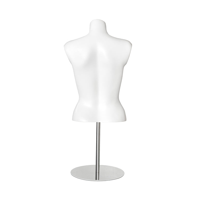 EFT3854 Female Torso Headless in Matt White
