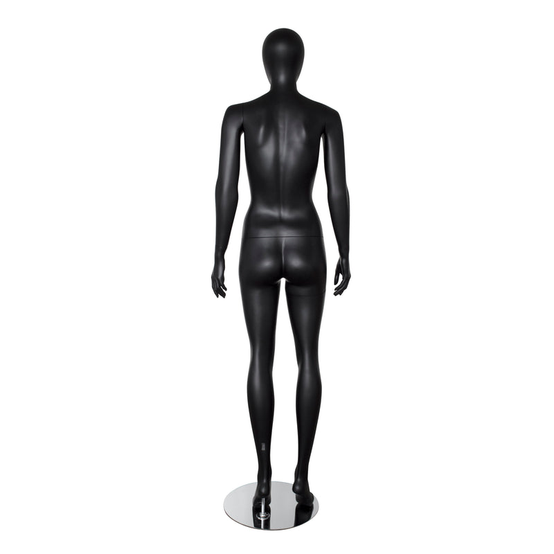 FMB_ROSO3 Black Matt Female Mannequin