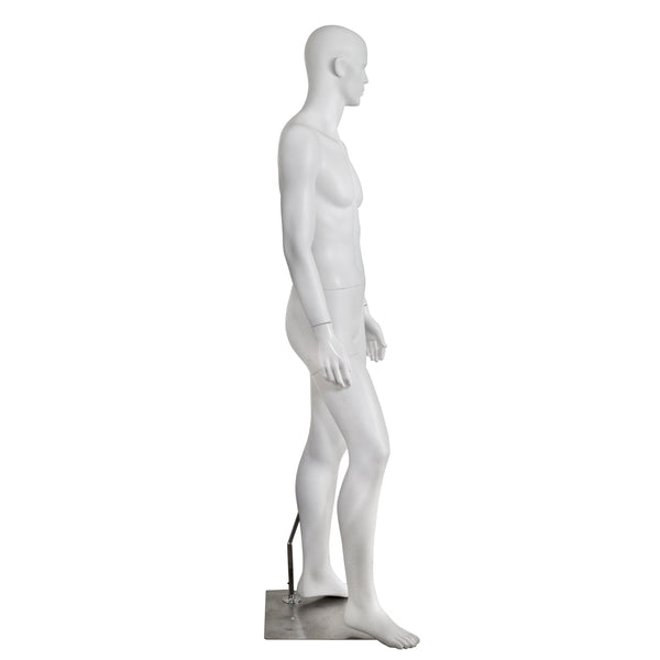 M16 Male Matt White Mannequin