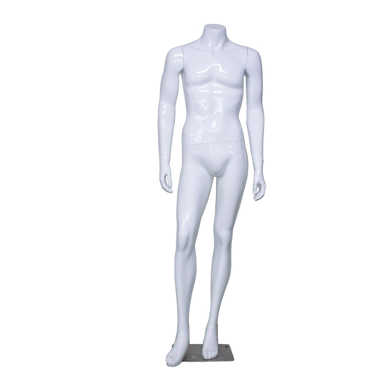 White Gloss Male Mannequin