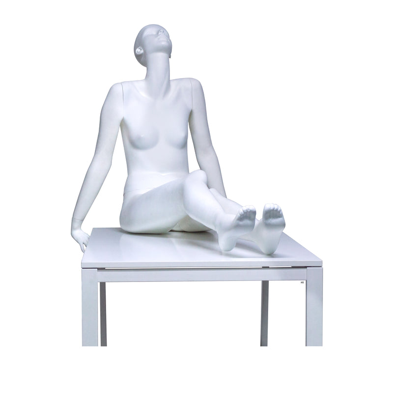 H5 Female Matt White Mannequin