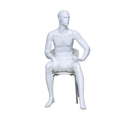 H6 Male Seated Mannequin