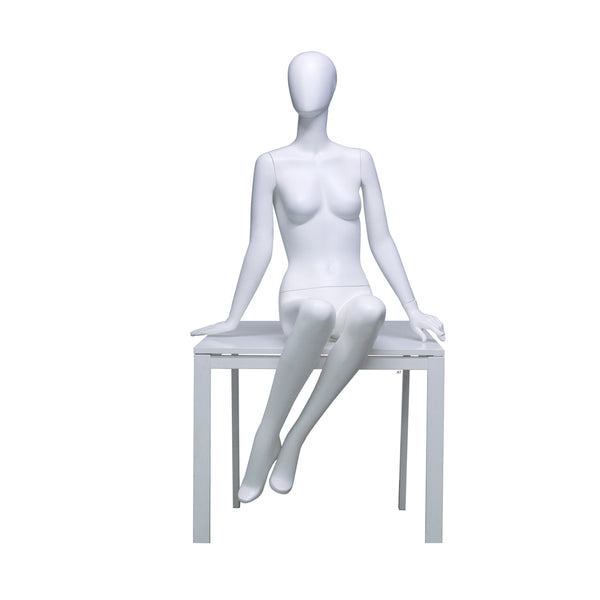 H7 FSeated Female Mannequin