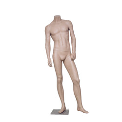 HB1 Matt Skin Colour Male Mannequin