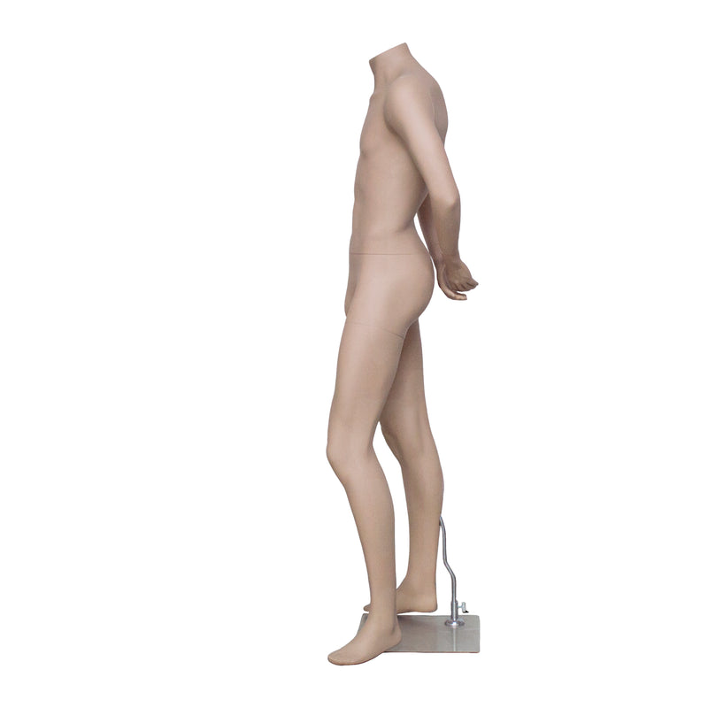 HB2 Matt Skin Colour Male Mannequin