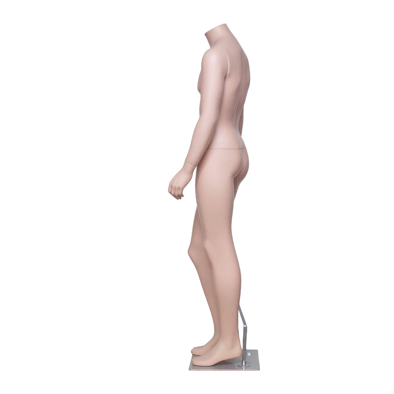 HB3 Matt Skin Colour Male Mannequin