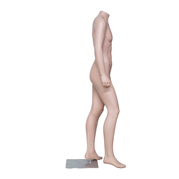 HB4 Matt Nude Colour Headless Male Mannequin