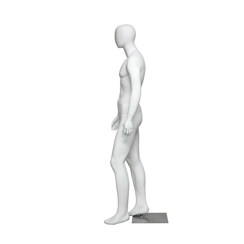 M14 Male Matt White Mannequin