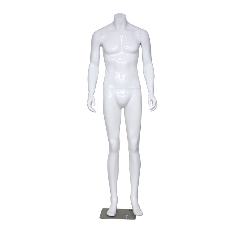 Gloss White Male Mannequin