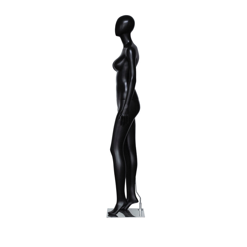 PF2 Female Matt Black Mannequin