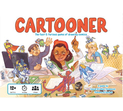 Cartooner: The Fast & Furious Game of Drawing Comics