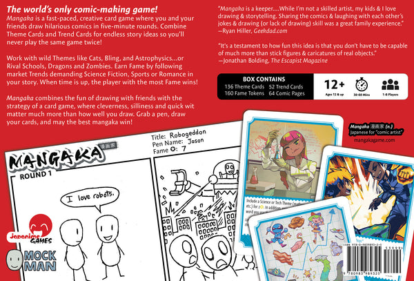 Mangaka: The Fast & Furious Game of Drawing Comics + Decadent Heart expansion