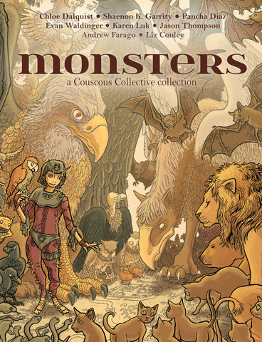 Monsters: A Comics Anthology