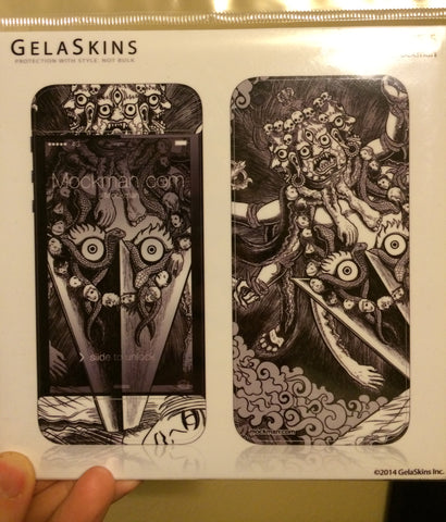 Gorgeously illustrated Gelaskin Phone Cover