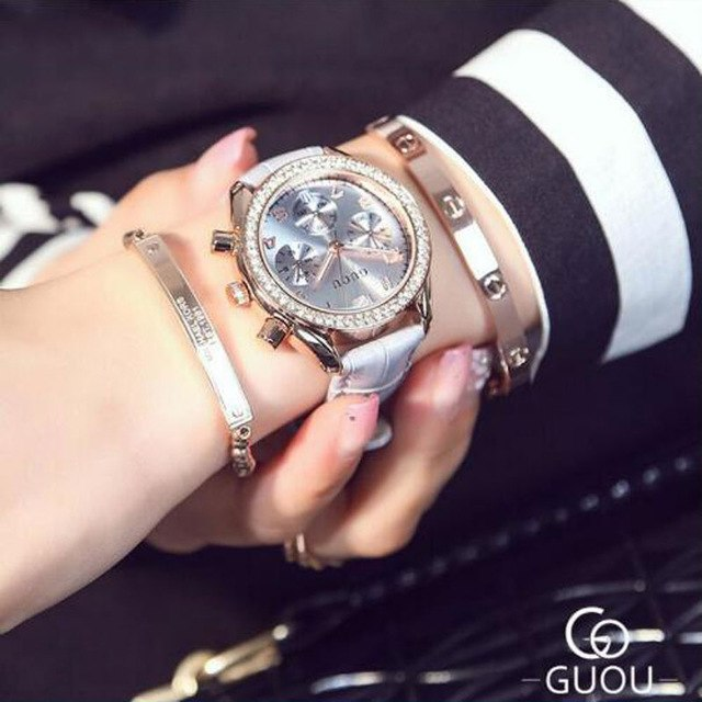GUOU Quartz Watch Luxury - Lux Style Wrist